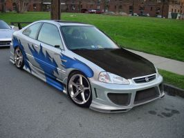 Honda Civic Coupe VT by matu07