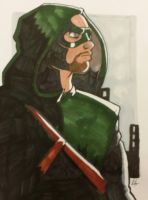 Arrow Commission I did at MBCC! by ZombieErnie