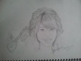 sooyoung drawing by SNSDartwork