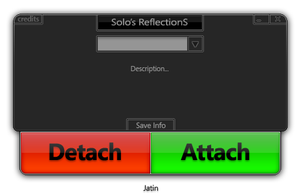 Solo's Reflections GUI by jatin