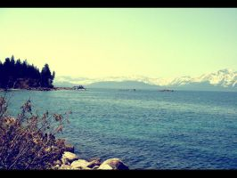 Lake Tahoe by OpalescentFish