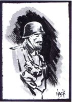 Cult Stuff WWI sketchcard 6 by RobertHack