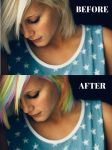 Photoshopping Rainbow Hair! by cewilson5