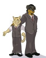 Penn and Teller by sportytuna