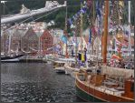 Tall Ships in Bergen by ChimeraDragonfang