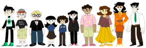 creepypasta: lineup by m5w