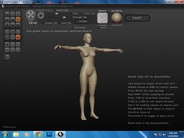 Woman Base Figure for Game Design by Pramodace