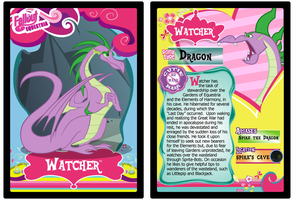Watcher Trading Card by RinMitzuki