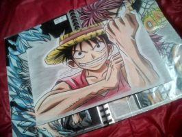 Luffy ONE PIECE  by baby8stef