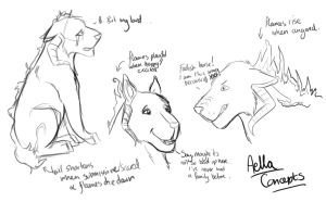 Aella - Concept Sketches by JEAikman