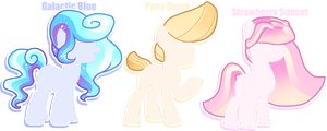 [CLOSED] Mane Offer-to-Adopt's by Booty-Bae-Adopts