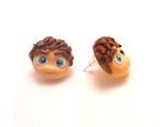 Handmade kawaii louis tomlinson earrings by MiniSweetx