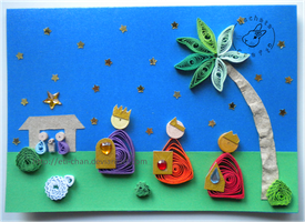 Quilling - card 116 by Eti-chan
