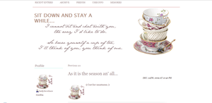 Tea Layout by LadyLovelace