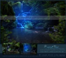 Secret Pond Premade by kuschelirmel-stock by kuschelirmel-stock
