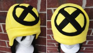 X-Men Hat - Black X by akiseo