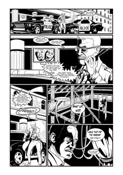 Batman Two Face Page 1 by Mike-Bunt