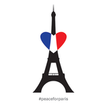 Peace for Paris by lsyw