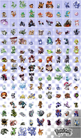 Pokemon nostalgia - full sheet by Pokekoks