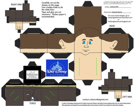 Dis52: Michael Banks Cubee by TheFlyingDachshund