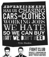 Fight Club Typography by LabsOfAwesome