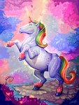 Rainbow Unicorn! by Lanasy