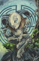 Pan's Labyrinth: the Faun by AmberStoneArt