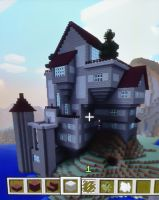 Minecraft Mansion by EveresshiaWind