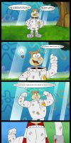 Sandy Cheeks Bright Idea. by Atariboy2600
