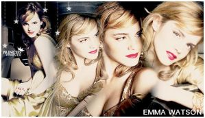 Emma Watson layout 04 by Grouve