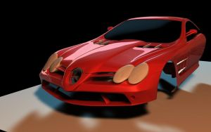 SLR McLaren 722 Wip by Artificialproduction