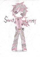 Saint Jimmy-green day by RAVEN-HIGHNIGHT
