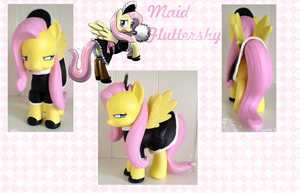 Maid Fluttershy FIM Version #3 by Asukatze