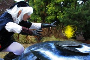 Dark Link gets the Prize by nwcosplay