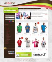 getyourstuff Shop Layout by razr-designs