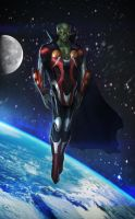 Martian Manhunter Redesign by t-biddy