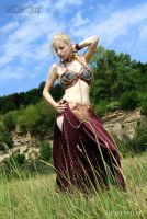 Slave Leia Cosplay by LichtStille