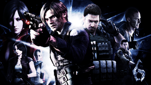 Resident Evil 6 Wall. by jevangood