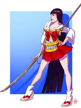 Sailor Mars by kajinman