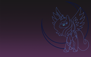 Princess Selene - Wallpaper by eTonyOC
