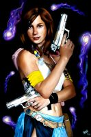 Yuna Final Fantasy X2 by angryangler