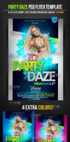 Party Daze Club Flyer Template by ImperialFlyers
