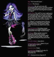 Spectra's Bio by mh-maria