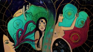 My artistic journey - Frontiers of the feminine by octomantic