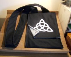 Black Celtic Bag - FOR SALE by Thaly