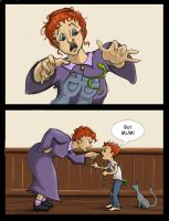 Charlie Weasley: Laundry Snake by The-Starhorse