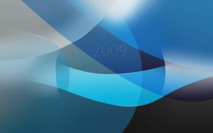 Blue and black wallpaper by Mohic