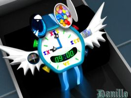Clock different by magrozo