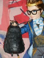 Dexter with backpack by Bj-Lydia