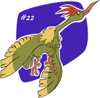 #22 Fearow by Renner-P